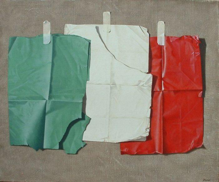 1861, 2011, olio su tela 100 x 120