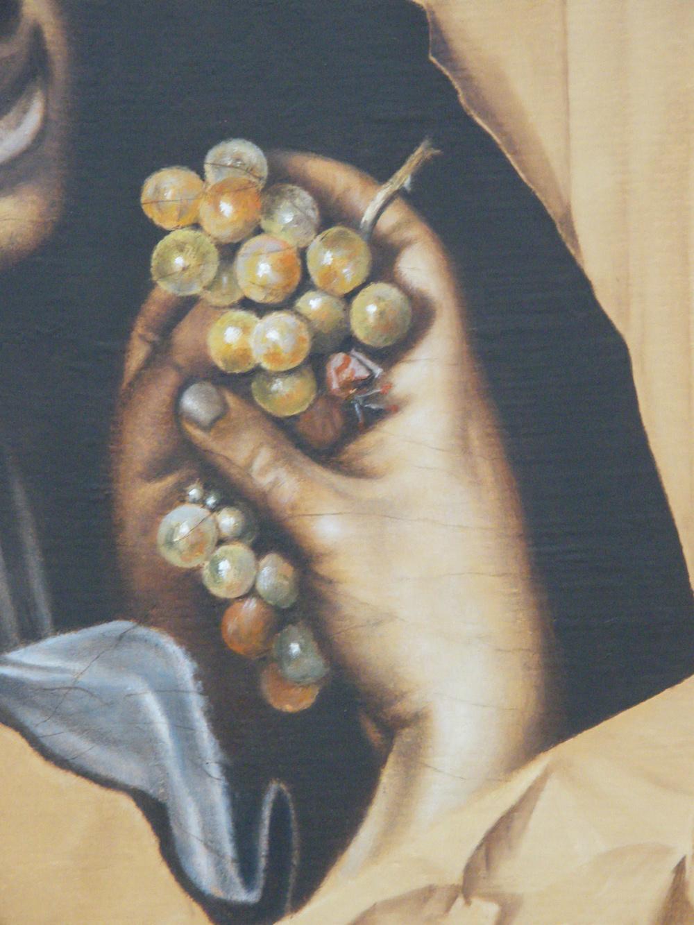 Il bacchino malato, 2013, olio su tela 52,5x66,5
