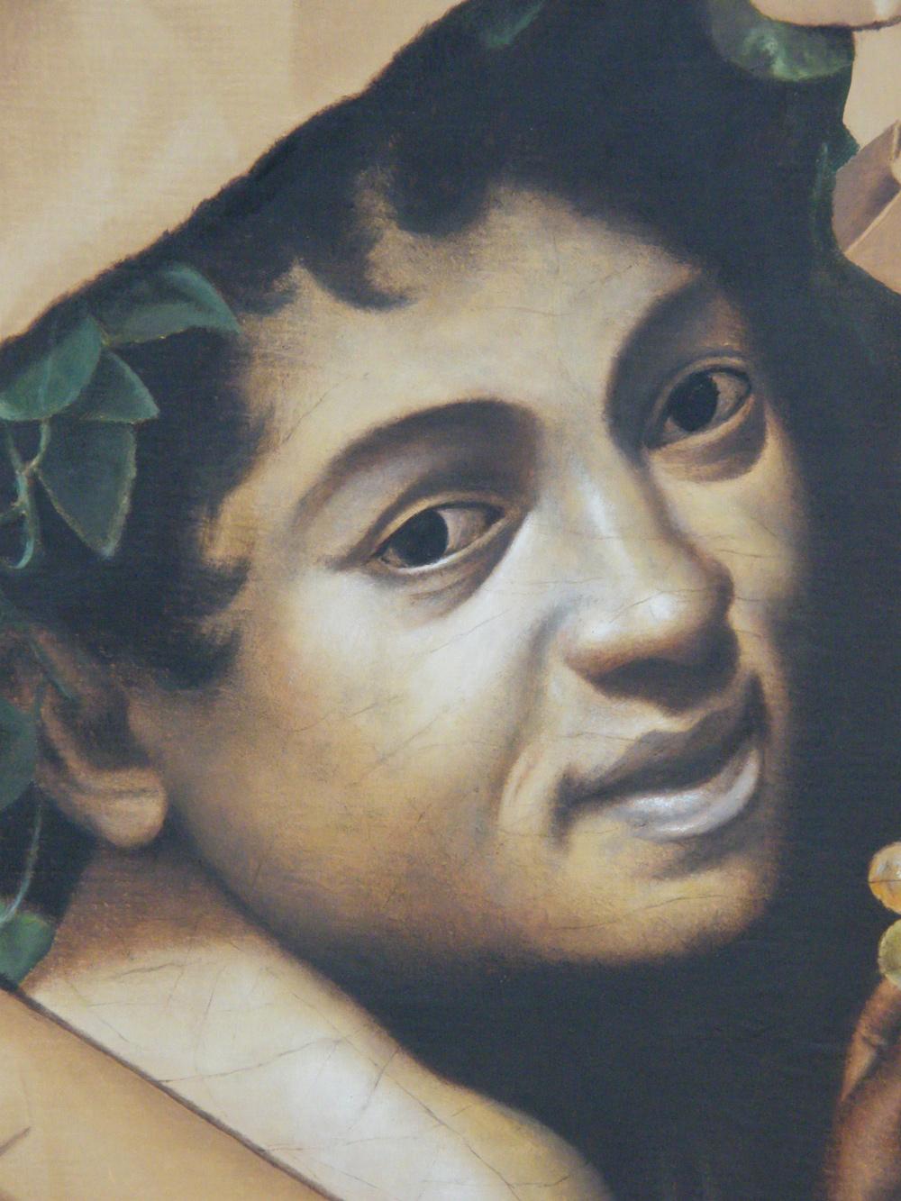 Il bacchino malato, 2013, olio su tela, cm. 52,5 x 66,5
