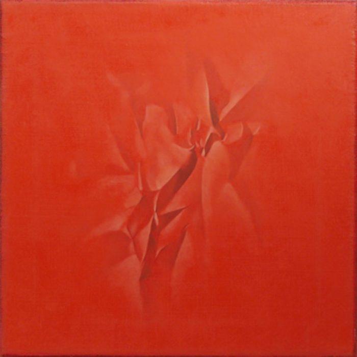 Giochi d'ombra II, 2014, olio su tela cm 40 x 40