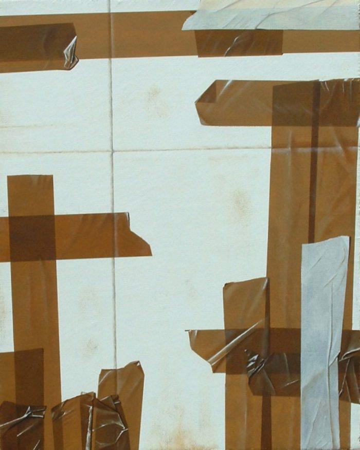 Box, 2012, Olio su tela, 40 x 50 cm