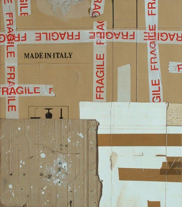 Fragile, 2012, Olio su tela, 70 x 80 cm
