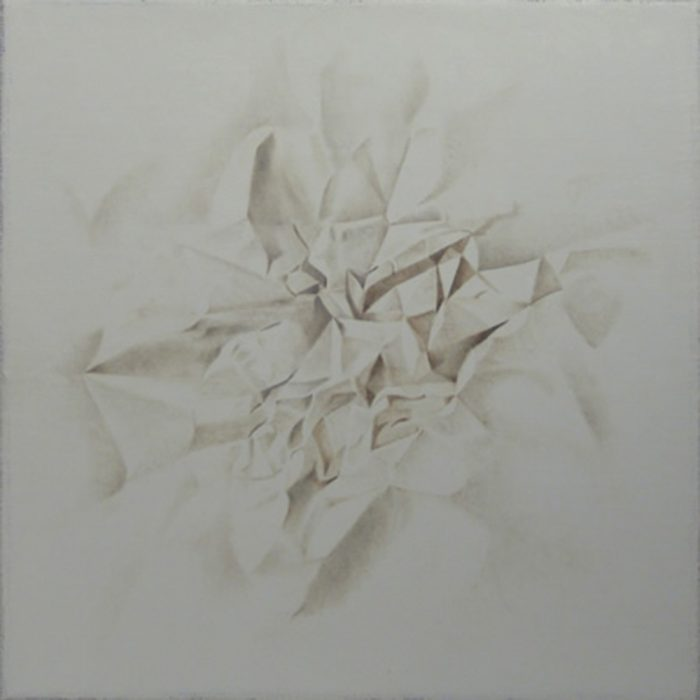 Giochi d'ombra III, 2014, olio su tela cm 40 x 40