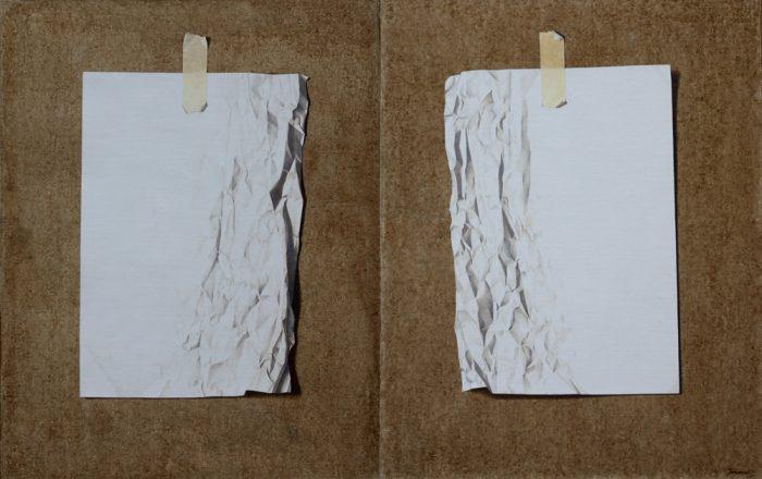 Life n°2, 2010, Olio su tela, 160 x 100 cm
