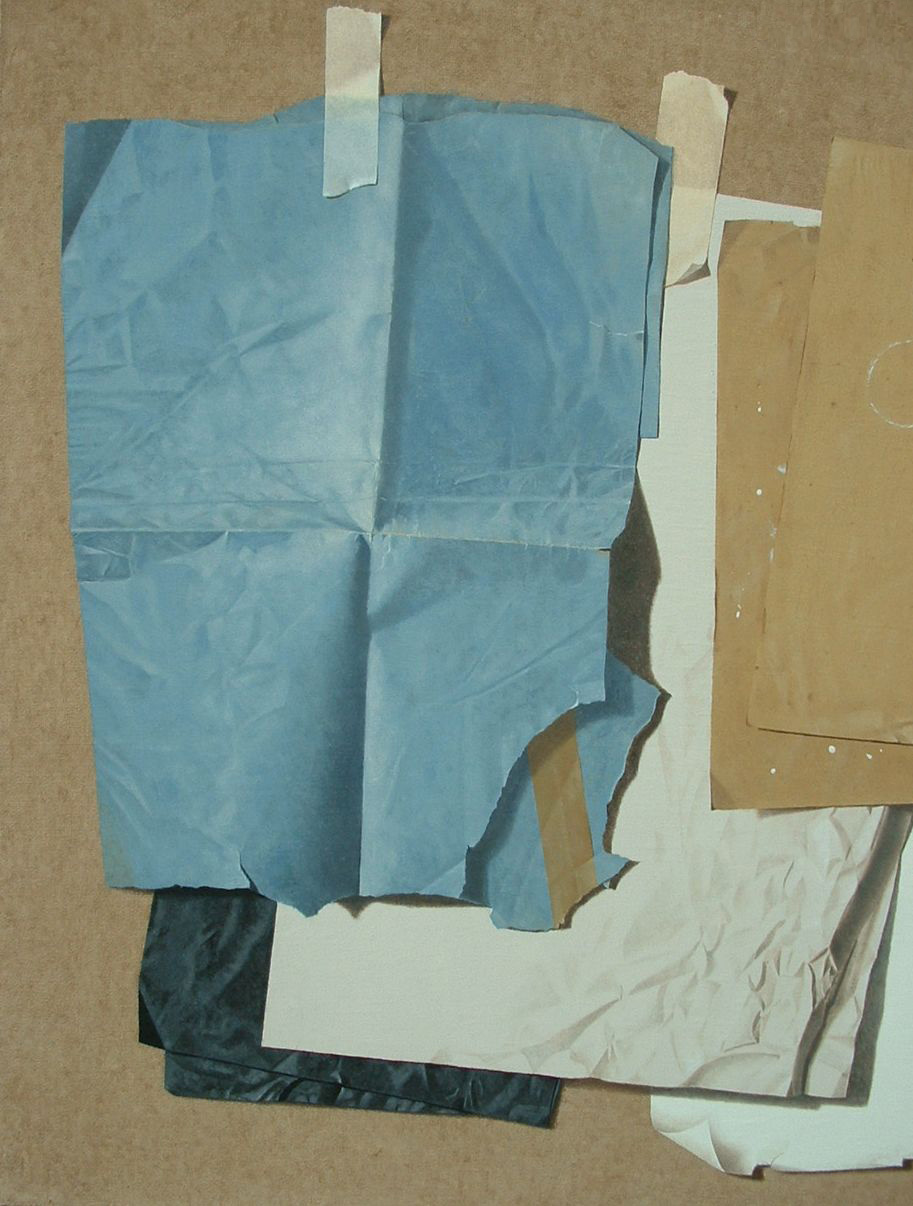 Parusìa, 2011, Olio su tela, 100 x 100 cm