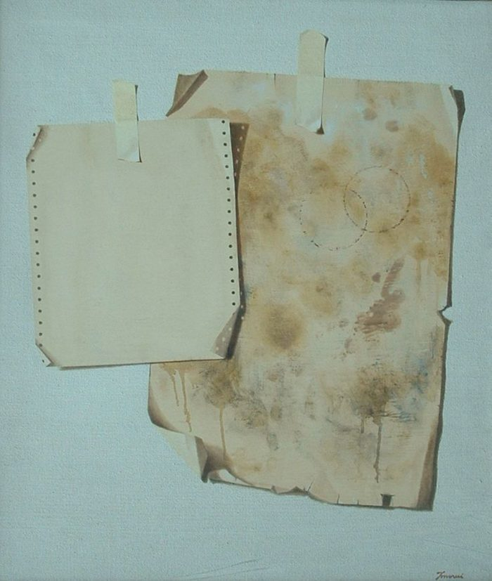 Preludio, 2010, Olio su tela, 60 x 70 cm