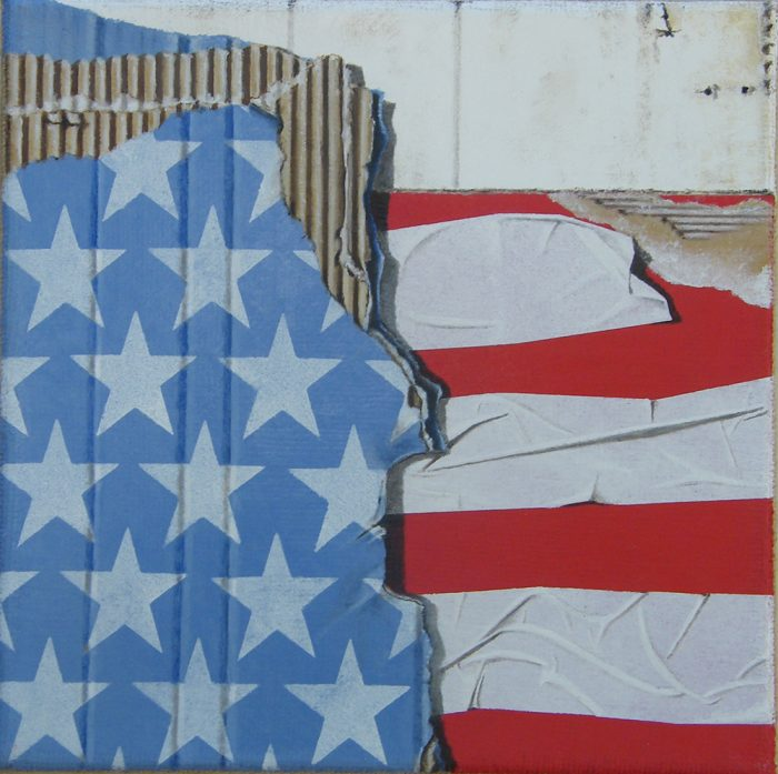 USA, 2015, Olio su tela, 30 x 30 cm