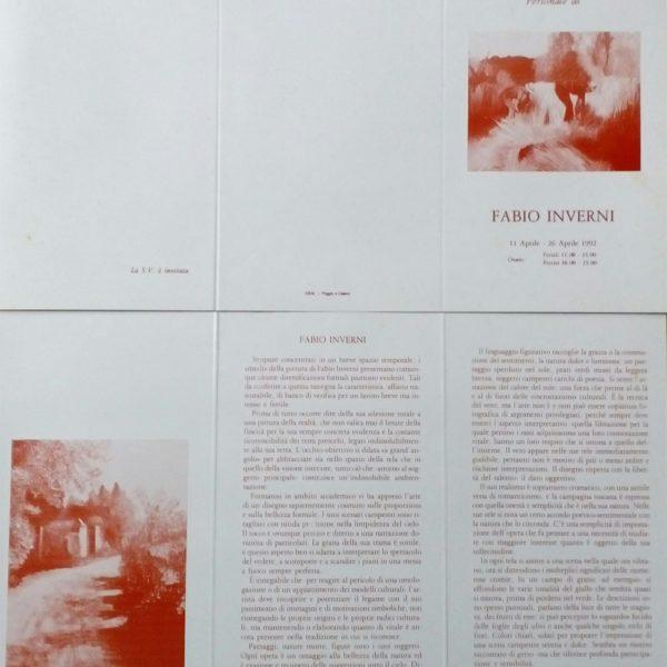 Articoli e riviste parlano di Fabio Inverni Artista e Pittore