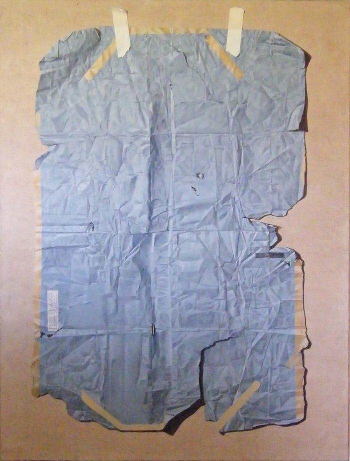 Memory Map, 2015, Olio su tela, 130 x 170 cm