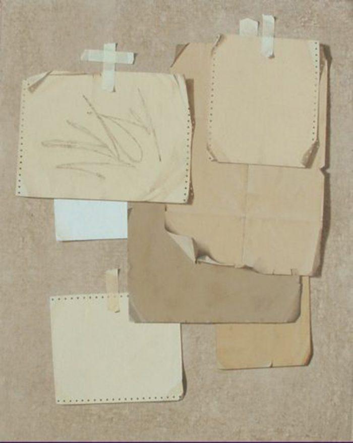 Percorso, 2010, Olio su tela, 80 x 100 cm