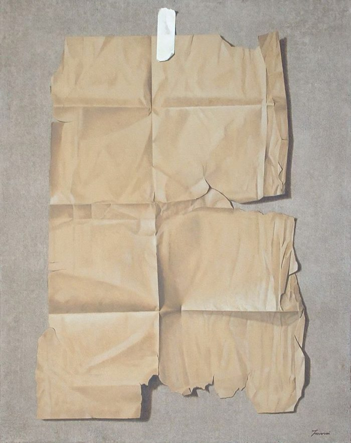 Presenza, 2010, Olio su tela, 80 x 100 cm