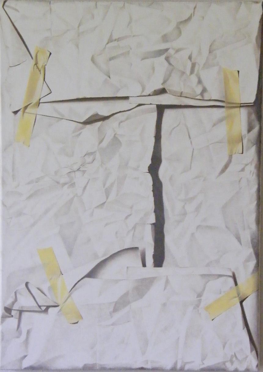 Ritratto di Angelo Doni, 2013, Olio su tela, 57 x 70 cm