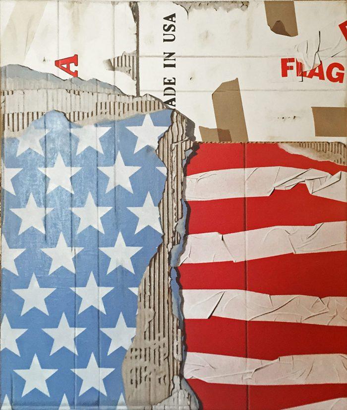 Flag, 2015, Olio su tela, 60 x 70 cm