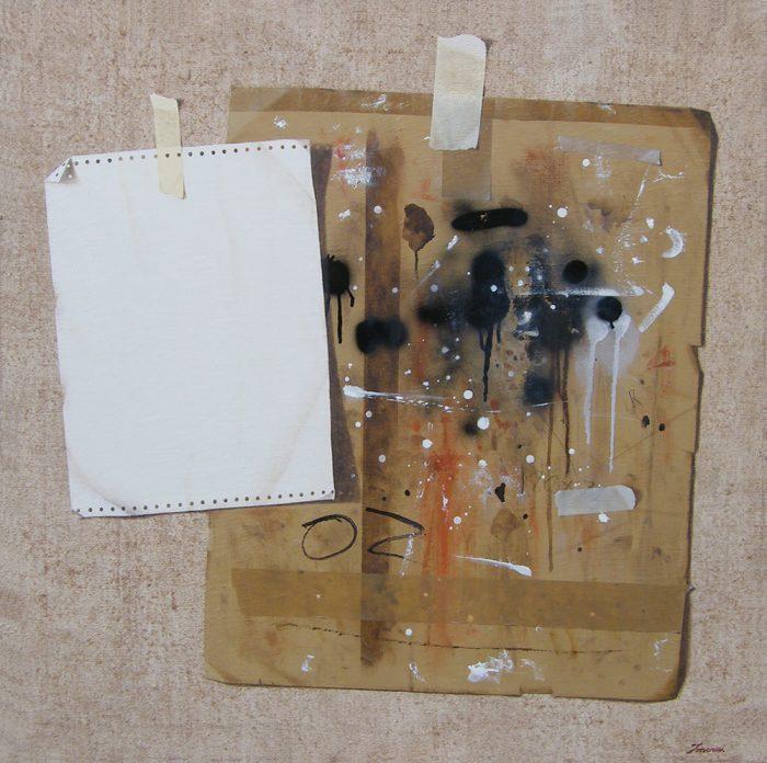 Oz, 2008, olio su tela, cm. 80 x 80