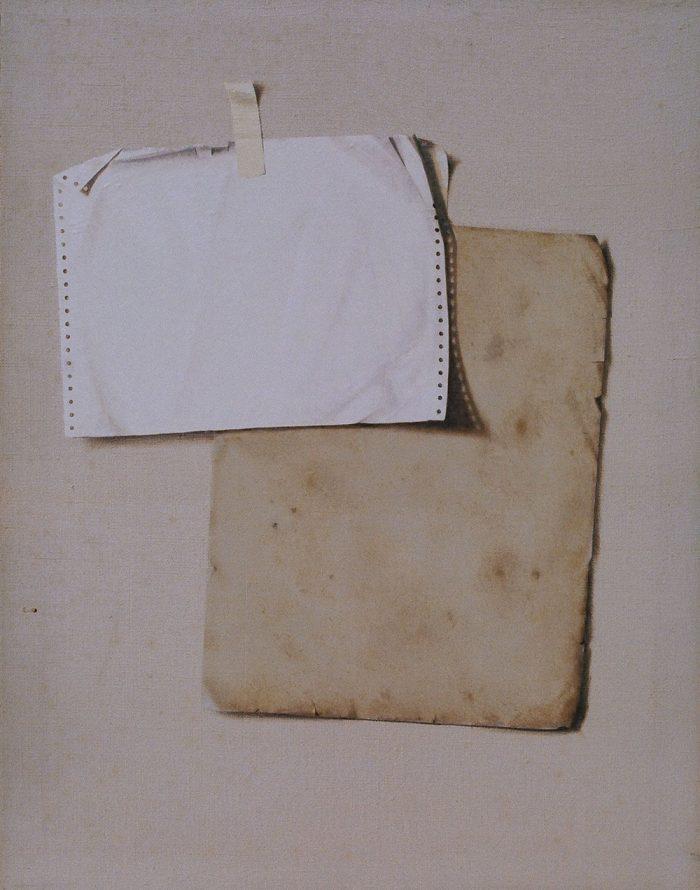 Preludio, 2006, olio su tela, cm. 70 x 90