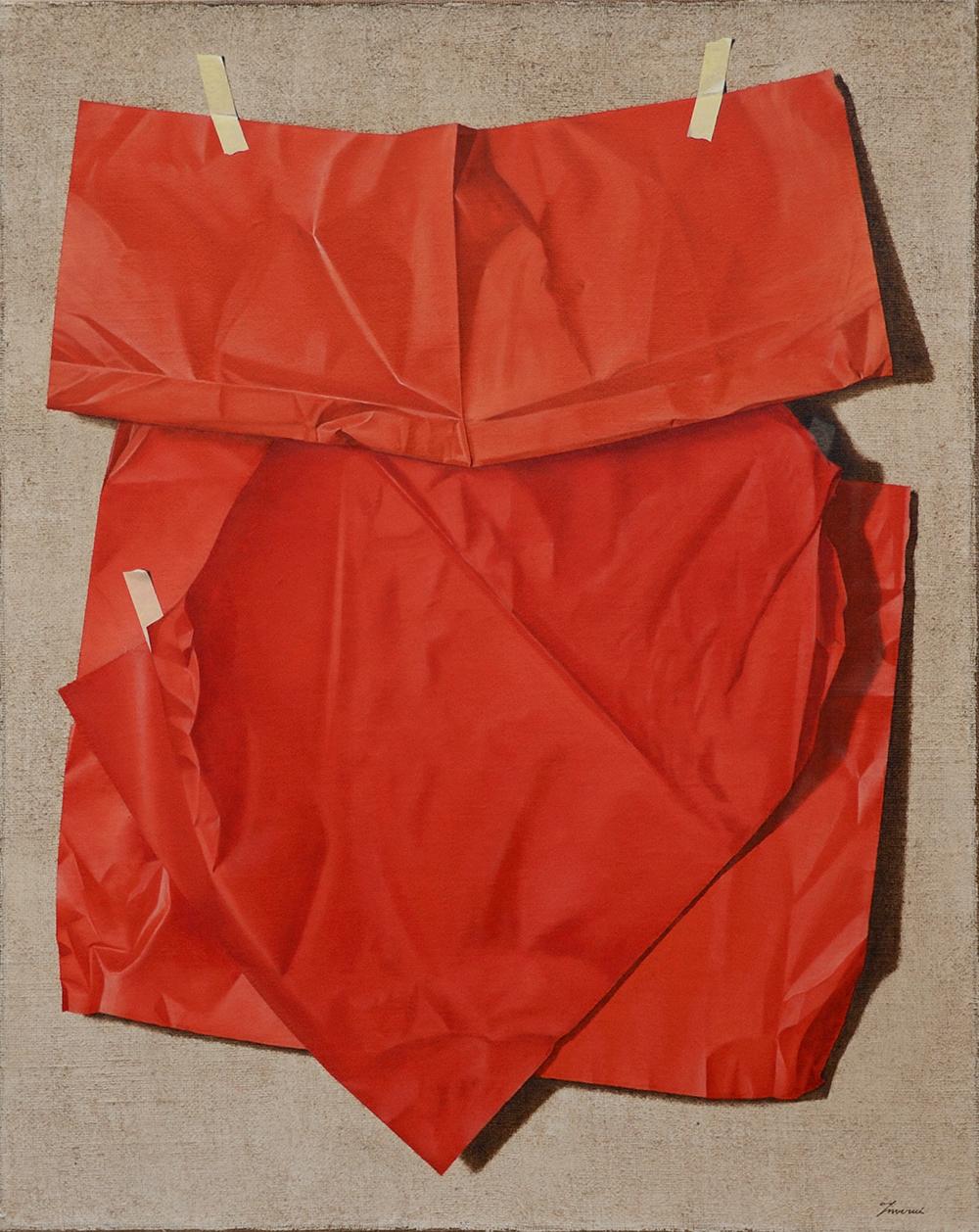 Rosso Fiorentino, 2013, Olio su tela, 80 x 100 cm