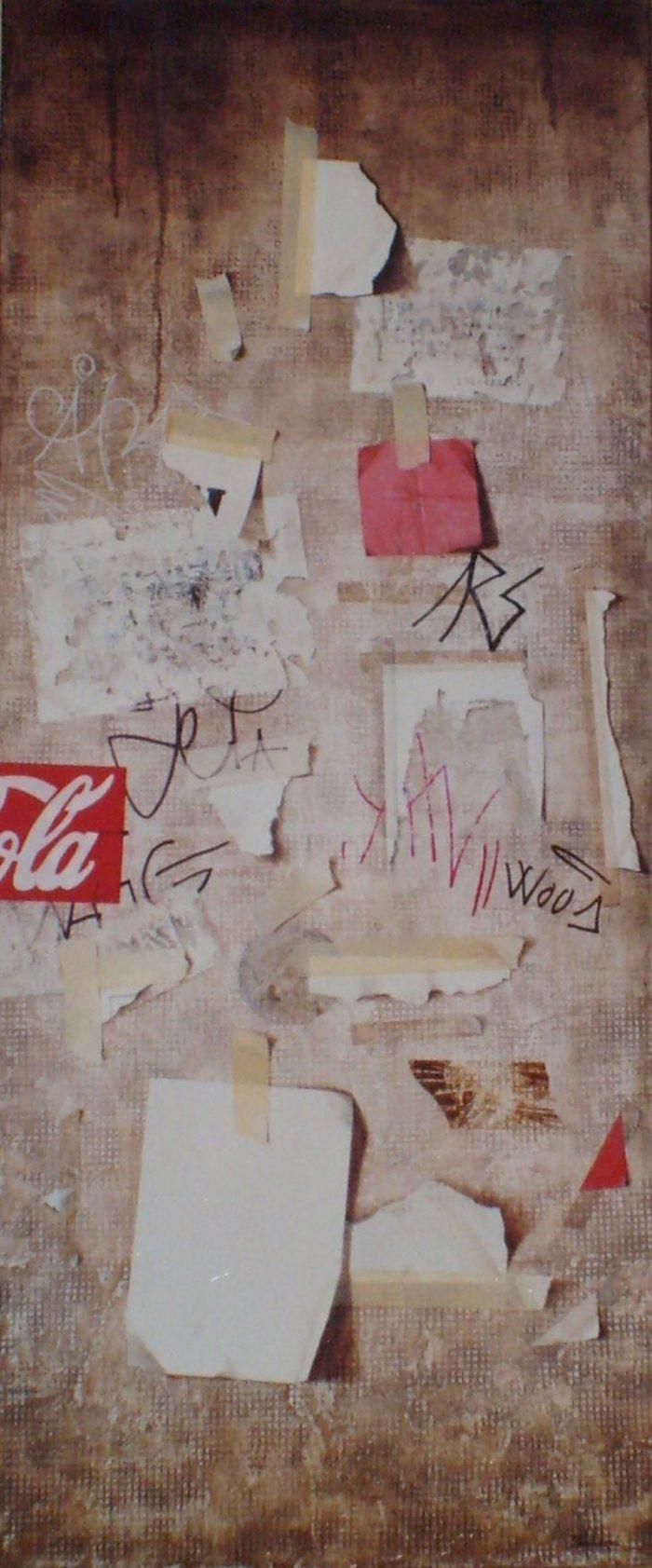 Sotoportego del pirieta, 2006, olio su tela, cm. 50 x 120