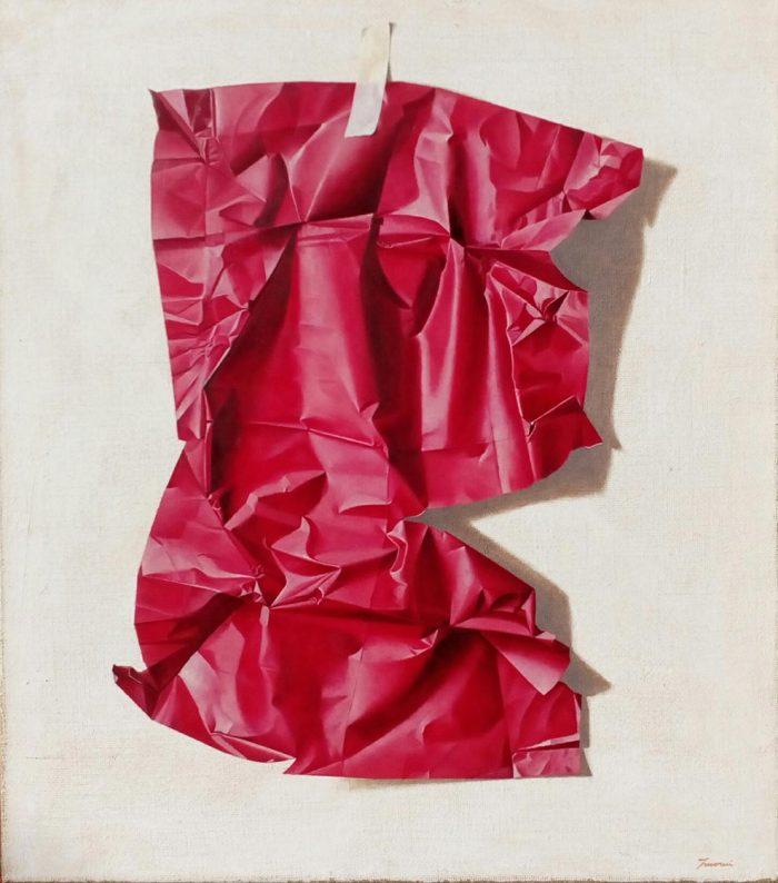 Red, 2019, Olio su tela, cm. 60 x 70